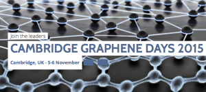 The greatest graphene and GRM business event in the world in 2015.